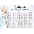 Tables de multiplication REINE DES NEIGES