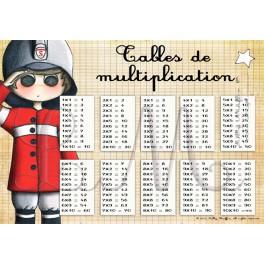 Tables de multiplication JACK