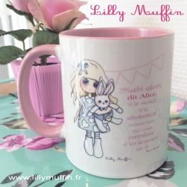 Mug - ALICE rose