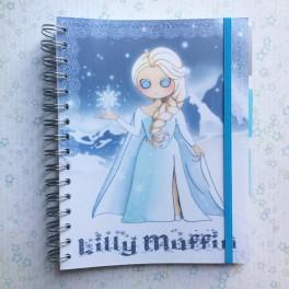 Cahier A5 La reine des Neiges