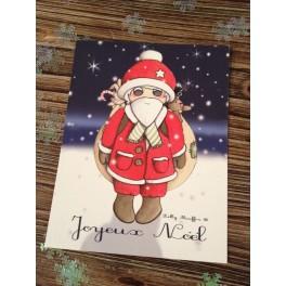 Carte Père-Noël