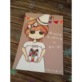 "Carte ""Happy Birthday to you !!! """